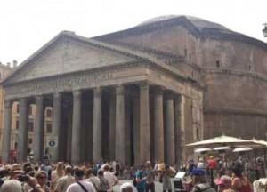 фотография древнеримского памятника архитектуры