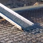 фотография заливки фундамента бетоном