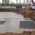 бетонная подготовка