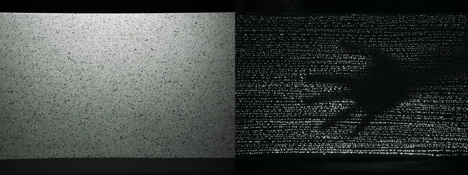 Сравнение оптических свойств обычного бетона и светопрозрачного