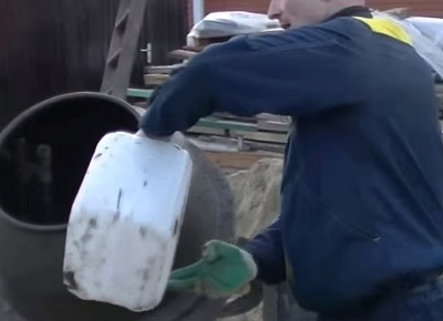 добавление противоморозной добавки в бетон