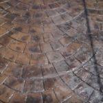 Декоративный бетон окрашенный