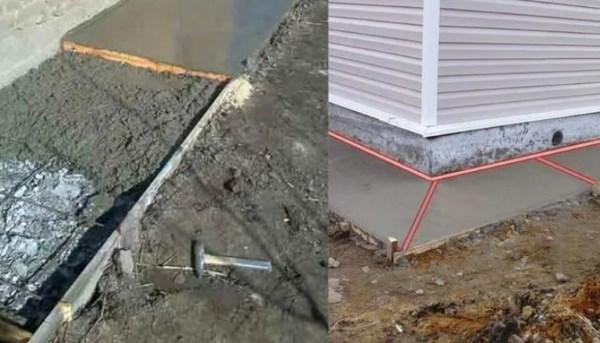 горячий шов при бетонировании